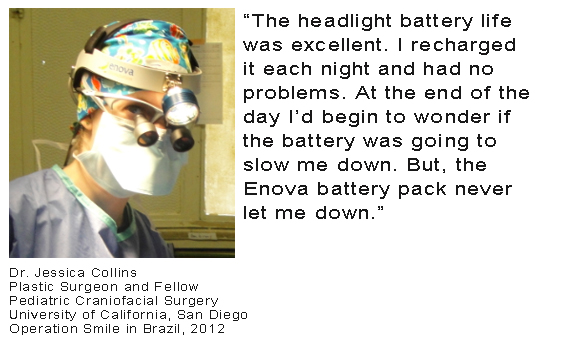 Dr. Jessica Collins - Battery Testimonial
