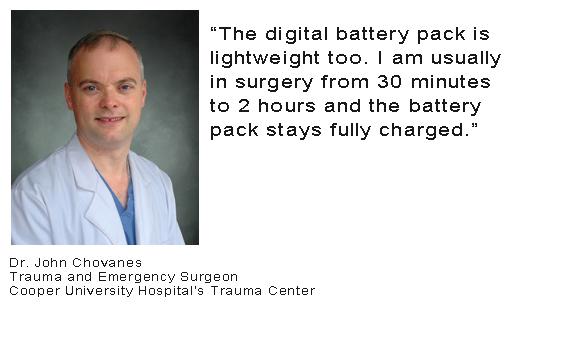 Dr John Chovanes - Battery Testimonial