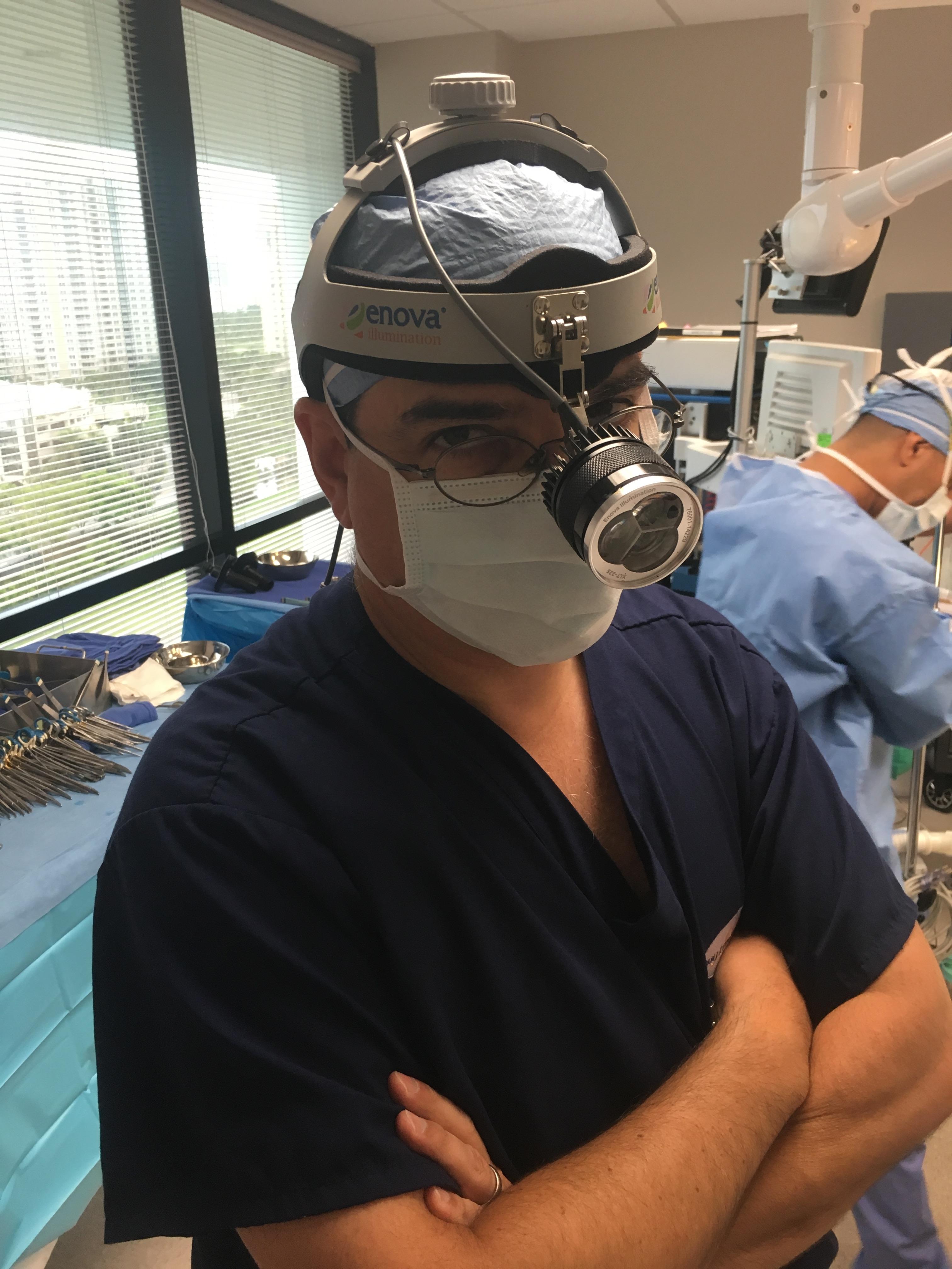 Dr. Rubinstein Wearing XLT225